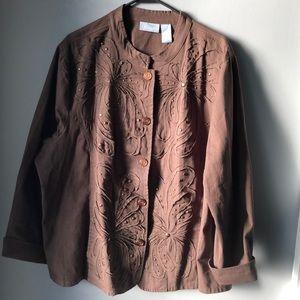Cute Plus size jacket